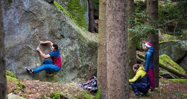 Loučovické bouldery